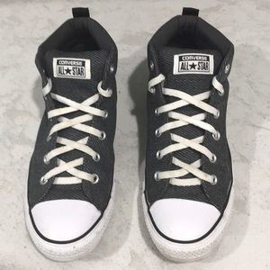 Mens Converse All Star Chuck Taylor Gray Size 10